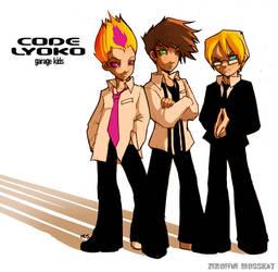 Code Lyoko aka Garage Kids 1 by mosskat