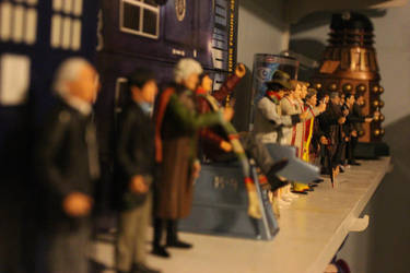 Doctor Who FIgures by OttselSpy24