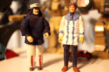Robotech Custom Figures: Gloval and Lang by OttselSpy24