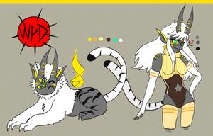 [CLOSED] Tier 3 War Paint Demon ~Tigress~ by Mama-Choco