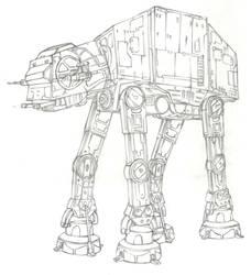 Star Wars Robot by doaseiki