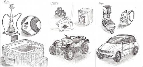 Various Drawings by doaseiki