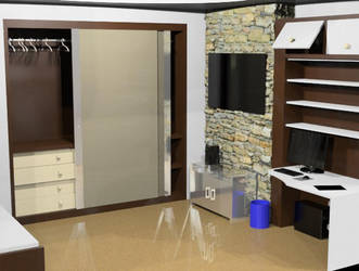 Rhinosceros Bedroom by doaseiki