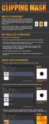 Exploring Photoshop: Clipping mask by arskuma