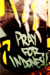 Pray For Indonesia by dwymonster