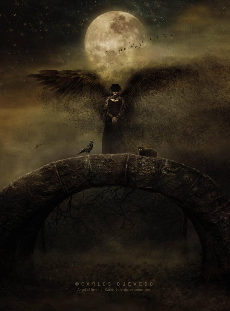 Angel of Death by Carlos-Quevedo