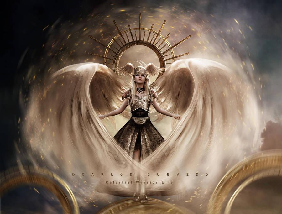 Celestial Warrior Elle by Carlos-Quevedo