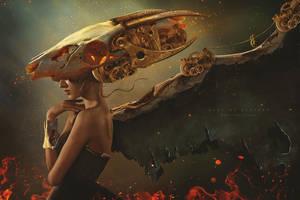 Mechanical Dragon by Carlos-Quevedo