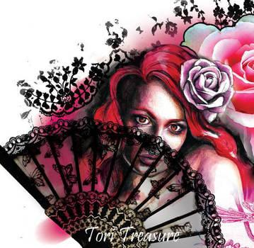 Right sleeve concept art by Tori Treasure by DinkyPrincessa