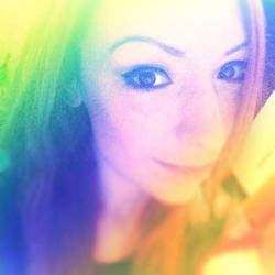 The Rainbow Sunshine Selfie by DinkyPrincessa