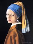 Autoportrait en jeune fille... by ABDportraits