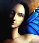 La femme papillon by ABDportraits