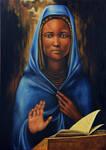 The Black Virgin by ABDportraits