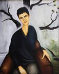 Rebirth, portrait of David by ABDportraits