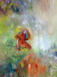 2015 ACRYLIQUE Pelerin III, copyright by ABDportraits