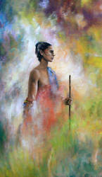 2015 ACRYLIQUE Pelerin IV, copyright by ABDportraits
