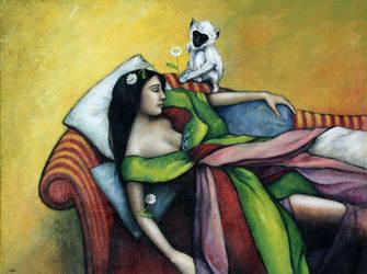 ANIMA VI, Le reve, Anne Bail-Decaen by ABDportraits