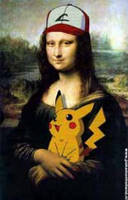 Pokemon Mona Lisa by Eeveeisgerman