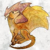 Ametrine Dragon by persian-pirate