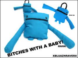 bitches blue version by xbluaznraverx