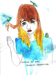 annoying birds by xbluaznraverx