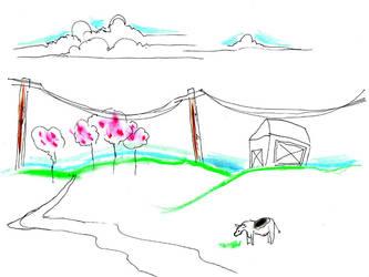 cow goes moo by xbluaznraverx