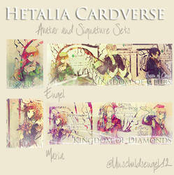 Hetalia Cardverse - Set by Unschuldsengel12