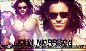 John Morrison 'Tarzan' sig by darkdhalia