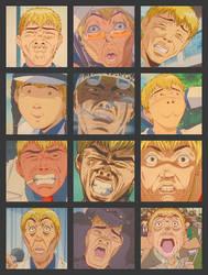 Onizuka Face by Tirullalleru