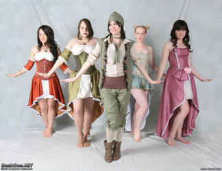 Assassin's Creed 2 Ladies by CountessLenore