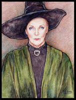 .:Minerva McGonagall:. by ChristinaMandy