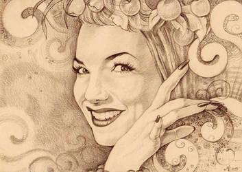 ..Carmen Miranda.. by ChristinaMandy