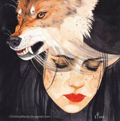 Wolf awaken by ChristinaMandy