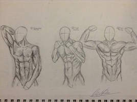 Male Pose Study by partyboy3543
