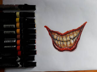 Killer Smile (Joker) by partyboy3543