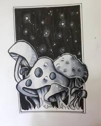 Mushrooms by partyboy3543