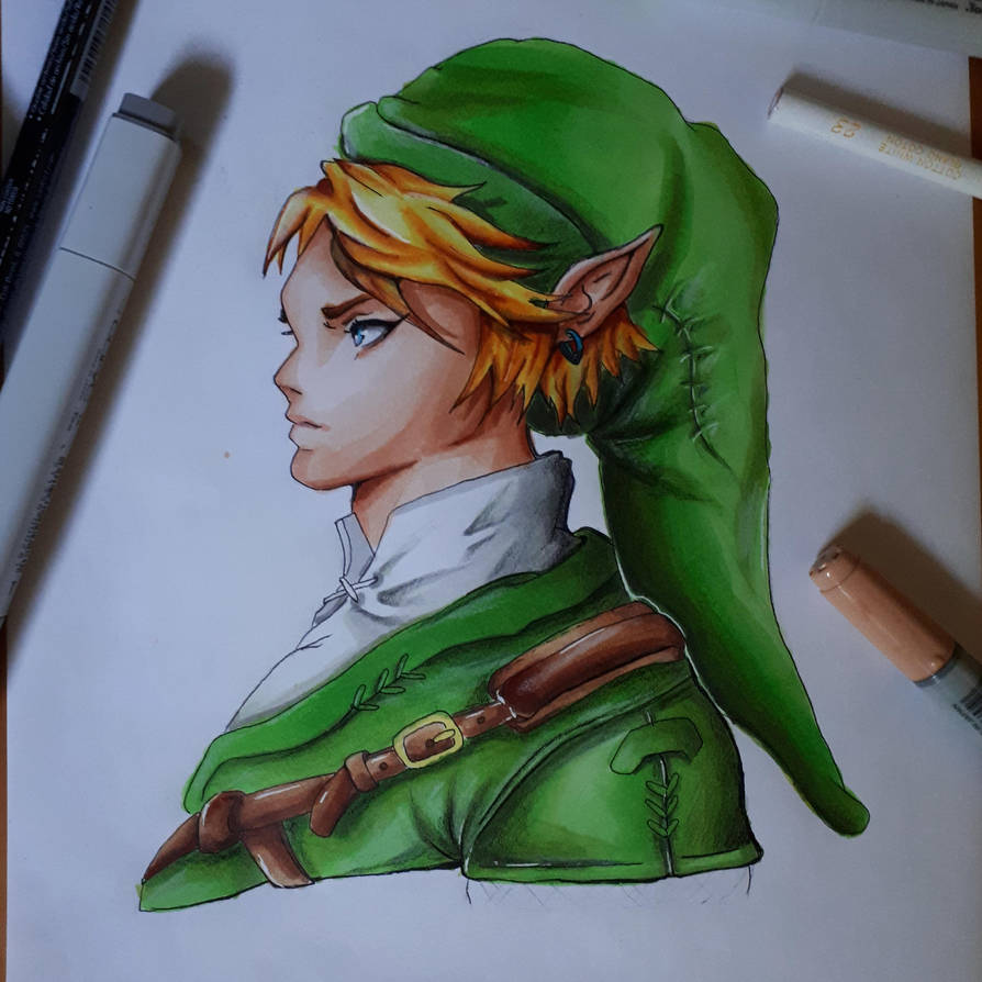 Hero of Hyrule (TLoZ) by partyboy3543