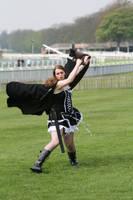 Gothic maiden warrior 23 by Random-Acts-Stock