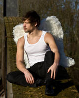 Grunge Angel stock 42 by Random-Acts-Stock