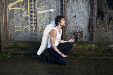 Grunge Angel stock 56 by Random-Acts-Stock