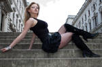 Blond bombshell stock 49 by Random-Acts-Stock