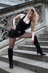 Blond bombshell stock 56 by Random-Acts-Stock