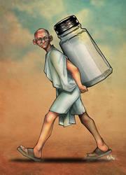The Salt March by tjet72