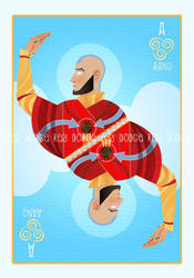 Ace of Air: Aang by theartful-dodge