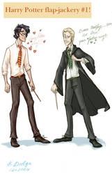 Harry Potter Flap-Jackery 1 by theartful-dodge