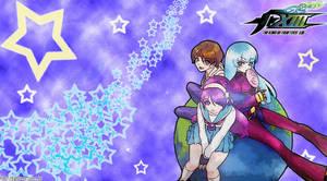 Yuri, Athena and Kula by fightersnetwork