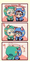 Cat YOI! part 2~ by ClownGray