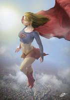 Supergirl by Danthemanfantastic