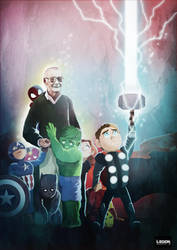 Farewell Stan Lee by Danthemanfantastic