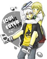 Soul Eater-MakaxSoul by Kountingsheep